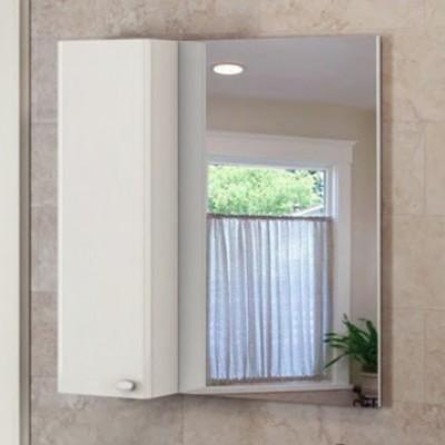 """Зеркало-шкаф """"Неаполь-80"""" белый глянец"""