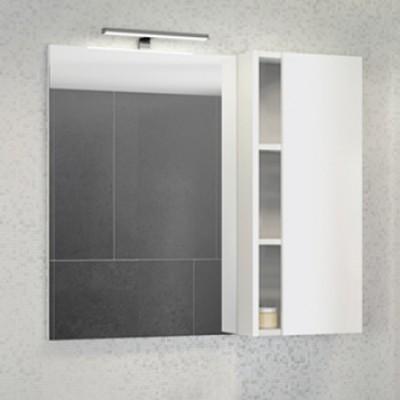 "Зеркало-шкаф ""Милан-90"" белый глянец"
