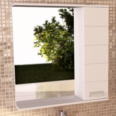 """Зеркало-шкаф """"Модена-75"""" белый глянец"""