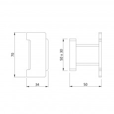 Крючок Artize QUA-CHR-61761