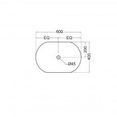 Встраиваемая раковина Jaquar SLS-WHT-6601