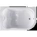 Акриловая ванна NORWAY RB331100 c каркасом 180х120х66 L