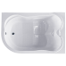 Акриловая ванна NORWAY RB331100 c каркасом 180х120х66 R