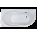Акриловая ванна AZUR RB614201 150x80x60 L