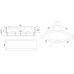 Акриловая ванна FANKE RB581200 140x140x65