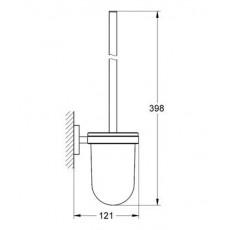 Ершик для туалета Grohe Essentials 40374001