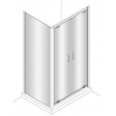 Боковая стенка Huppe X1 140507.069.321 (120507.069.321) 190*100 см