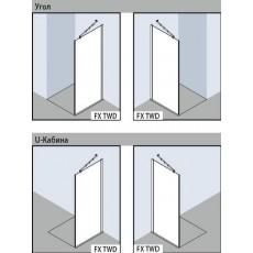 Боковая стенка Kermi Filia XP FX TWD 08020VPK, 80*200 см