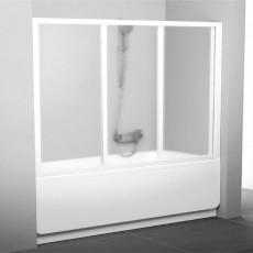 Шторка для ванн Ravak AVDP3-180 алюминевый профиль, матовое стекло Grape