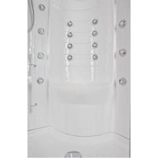 Душевая кабина Aquanet Fiji 95*95*227 см с гидромассажем без пара 00172256