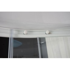 Душевая кабина Aquanet Fiji 95*95*227 см с гидромассажем без пара