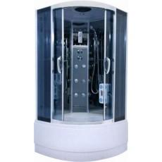Душевая кабина NG- 708-01N (900х900х2200) высокий поддон(48см) стекло ПОЛОСАТОЕ