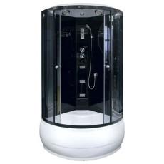 Душевая кабина NG-211-01N (900х900х2200) высокий поддон(48см) стекло ТОНИРОВАННОЕ