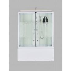 Душевая кабина NG-3150-01 (1500х700х2200) высокий поддон(56см) стекло МОЗАИКА