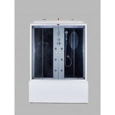 Душевая кабина NG-5150-01 (1500х700х2200) высокий поддон(56см) стекло ТОНИРОВАННОЕ