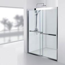 Душевая дверь Aquanet Delta NPD6122 150*80*200 см с поддоном, 2 створки 00184541