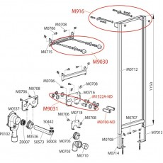 Монтажная рама Alca Plast A104AVS/1200 для умывальника