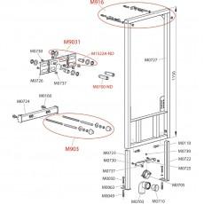 Монтажная рама Alca Plast A105/1200 для биде