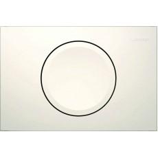 Клавиша Geberit Delta 11 115.120.11.1, белая, пластик, 246*164 мм