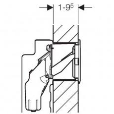 Блок Geberit Sigma 115.610.00.1 для установки ароматических таблеток до 12 мм внутрь бачка