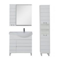 Комплект мебели Aquanet Доминика 90 R, цвет фасада белый