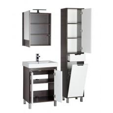 Комплект мебели Aquanet Гретта 60 (камерино, 2 дверцы), цвет венге