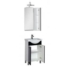 Комплект мебели Aquanet Асти 55 (зеркало-шкаф), цвет фасада белый