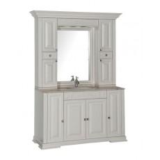 Комплект мебели Aquanet Кастильо 140, цвет слоновая кость