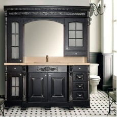 Комплект мебели Atoll Lyudovik 208*188 см, black (черный)