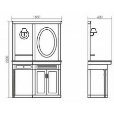 Комплект мебели Atoll Boston 220*158 см
