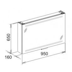 Зеркальный шкаф Keuco Edition 300 30203 171201