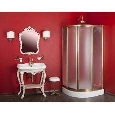 Пуфик для ванной Migliore Mirella ML.MRL-50.106BR/RA - бронза/медь