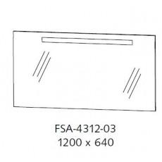 Зеркало Puris Cool Line арт. FSA 4312 03/722/161