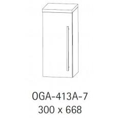 Верхний шкаф Puris Swing арт. OGA 413A 7R/722/161