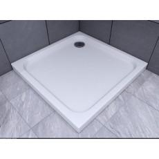 Душевой поддон Aquatek 90*90 см, квадратный, минеральное литье