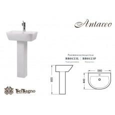 Раковина BelBagno Antareo BB0123L