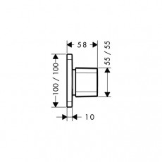 Вентиль переключающий AXOR Urquiola арт. 11925000