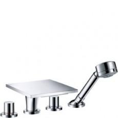 Смеситель AXOR Massaud 18453000 для ванны и душа внешняя часть