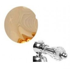 Гигиенический душ Cezares DIAMOND-KS-03-Sw, золото, ручка Swarovski