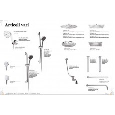 Гигиенический душ Cezares Articoli Vari IF-01 со шлангом 120 см, хром, без держателя