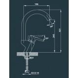 Cмеситель Edelform Brass BR1808 для кухни