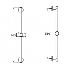 Душевая штанга Ideal Standard Idealrain B9420AA