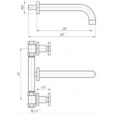 Cмеситель Migliore Naxos ML.NAX-7667 для раковины