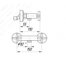 Cмеситель Migliore Naxos ML.NAX-7646 для душа