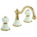 Cмеситель Migliore Olivia ML.OLV-5812BO. DO для раковины, золото, ручки декор золото