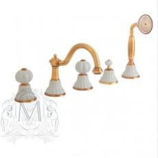 Cмеситель Migliore Olivia ML.OLV-5880 на борт ванны