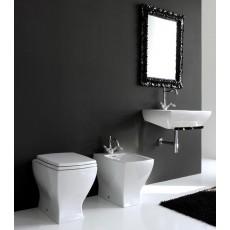 Унитаз ArtCeram Jazz приставной (белый/черный) JZV002 01;50