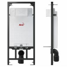 Готовое решение: инсталляция AlcaPlast Sadromodul 3 в 1 A101/1200-3:1 SET M71 + подвесной унитаз Gustavsberg Artic 4330 с сиденьем Soft-Close