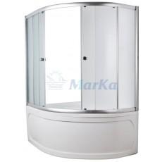 Ванна 1MarKa AURA, асимметричная, левая/правая, 150*105 см