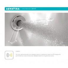Ванна акриловая Акватика Авентура 170*75*68 см
